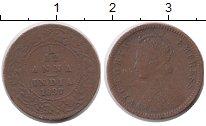 Изображение Монеты Азия Индия 1/12 анны 1897 Медь VF