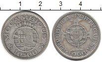 Изображение Монеты Африка Мозамбик 10 эскудо 1960 Серебро XF