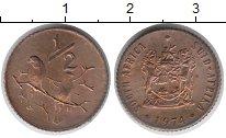 Изображение Монеты Африка ЮАР 1/2 цента 1974 Бронза XF