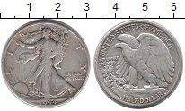 Изображение Монеты США 1/2 доллара 1944 Серебро VF