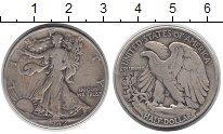 Изображение Монеты Северная Америка США 1/2 доллара 1942 Серебро VF