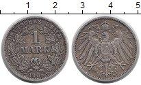 Изображение Монеты Европа Германия 1 марка 1905 Серебро VF