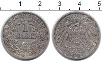 Изображение Монеты Германия 1 марка 1906 Серебро VF