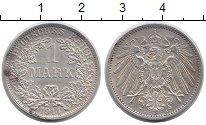Изображение Монеты Германия 1 марка 1914 Серебро XF A