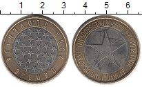 Изображение Монеты Европа Словения 3 евро 2008 Биметалл XF