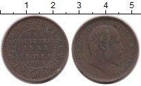Изображение Монеты Индия 1/4 анны 1904 Медь VF Эдвард VII