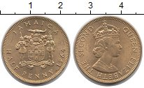 Изображение Монеты Северная Америка Ямайка 1/2 пенни 1964 Латунь XF