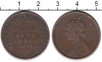 Изображение Монеты Индия 1/4 анны 1862 Медь VF
