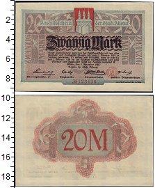 Изображение Банкноты Германия : Нотгельды 20 марок 1918  XF