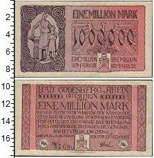 Изображение Банкноты Германия : Нотгельды 1000000 марок 1923  XF