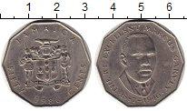 Изображение Монеты Северная Америка Ямайка 50 центов 1986 Медно-никель XF