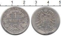 Изображение Монеты Европа Германия 1 марка 1874 Серебро VF