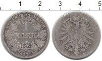 Изображение Монеты Европа Германия 1 марка 1875 Серебро VF