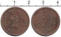 Изображение Монеты Европа Германия 2 пфеннига 1876 Медь XF