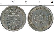 Изображение Монеты Африка Ангола 2 1/2 эскудо 1953 Медно-никель XF
