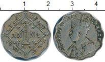 Изображение Монеты Индия 1 анна 1918 Медно-никель XF Георг V