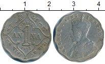 Изображение Монеты Азия Индия 1 анна 1913 Медно-никель XF