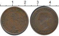 Изображение Монеты Шри-Ланка Цейлон 1 цент 1890 Медь VF