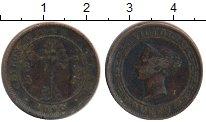 Изображение Монеты Цейлон 1 цент 1890 Медь VF Виктория