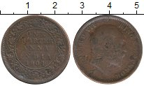Изображение Монеты Индия 1/4 анны 1904 Бронза VF