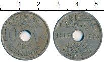 Изображение Монеты Египет 10 миллим 1917 Медно-никель XF- Британская оккупация