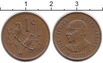 Изображение Монеты ЮАР 1 цент 1979 Бронза XF