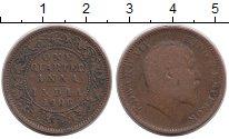 Изображение Монеты Азия Индия 1/4 анны 1906 Бронза VF