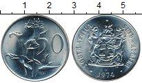 Изображение Монеты ЮАР 50 центов 1974 Медно-никель UNC-