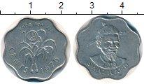 Изображение Монеты Африка Свазиленд 10 центов 1975 Алюминий XF