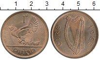 Изображение Монеты Европа Ирландия 1 пенни 1965 Бронза XF