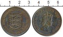 Изображение Монеты Великобритания Остров Джерси 1/12 шиллинга 1960 Бронза XF