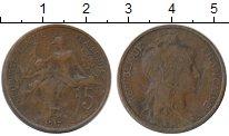 Изображение Монеты Европа Франция 5 сантим 1917 Бронза VF