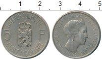 Изображение Монеты Европа Люксембург 5 франков 1962 Медно-никель XF