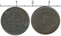 Изображение Монеты Азия Индия 1/12 анны 1911 Бронза XF