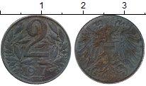 Изображение Монеты Австрия 2 геллера 1917 Железо XF-