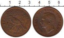 Изображение Монеты Австралия и Океания Новая Зеландия 1 пенни 1947 Бронза XF