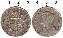 Изображение Монеты Новая Зеландия 1/2 кроны 1935 Серебро XF-