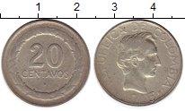 Изображение Монеты Южная Америка Колумбия 20 сентаво 1946 Медно-никель VF