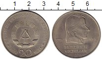 Изображение Монеты ГДР 20 марок 1972 Медно-никель XF
