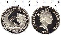 Изображение Монеты Соломоновы острова 5 долларов 1995 Серебро Proof