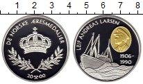 Изображение Монеты Норвегия Медаль 2000 Серебро Proof