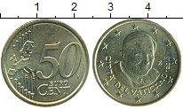 Изображение Монеты Европа Ватикан 50 евроцентов 2010 Латунь UNC-
