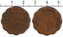 Изображение Монеты Азия Ирак 10 филс 1938 Бронза XF