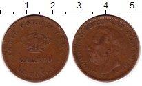 Изображение Монеты Португальская Индия 1/4 таньга 1886 Медь VF