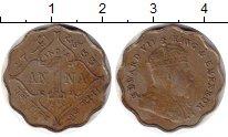 Изображение Монеты Индия 1 анна 1910 Медно-никель VF Эдуард VII