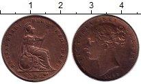 Изображение Монеты Великобритания 1 фартинг 1853 Медь XF-