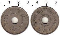 Изображение Монеты Палестина 20 милс 1927 Медно-никель XF-