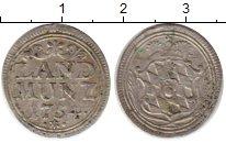 Изображение Монеты Бавария 10 пфеннигов 1754 Серебро XF Максимильян III курф