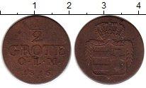 Изображение Монеты Германия Ольденбург 1/2 грота 1816 Медь XF