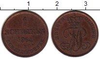 Изображение Монеты Германия Ольденбург 1 шварен 1864 Медь XF-